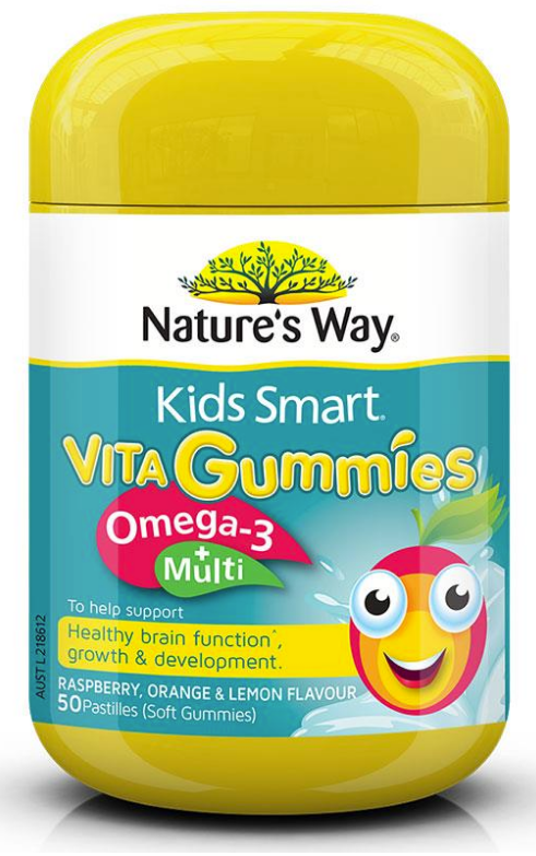 Nature's Way Kids Smart Vita Gummies Multi + Omega 3
