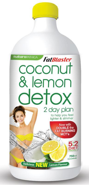 Naturopathica Fatblaster Coconut & Lemon Detox 750ml