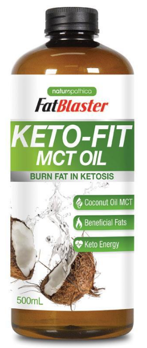 Naturopathica Fatblaster Keto Fit MCT Oil 500ml